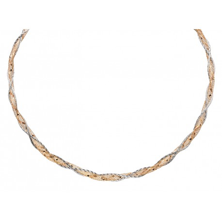 S14 Sterling Silver Mesh Bracelet