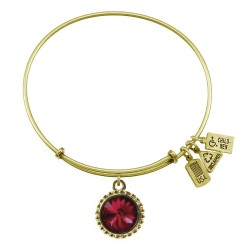 101 January (Garnet) Birthstone Bracelet