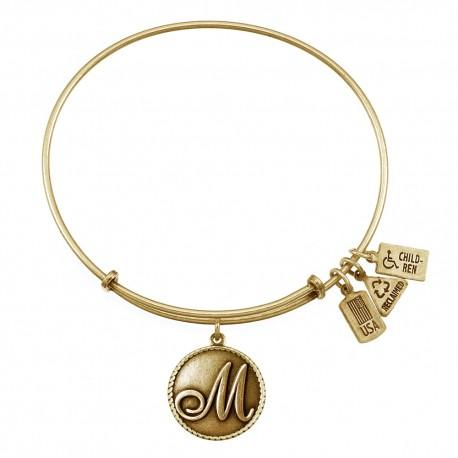 162 Love Letter M Bracelet
