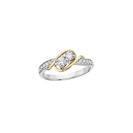 C2 1/4ct ring