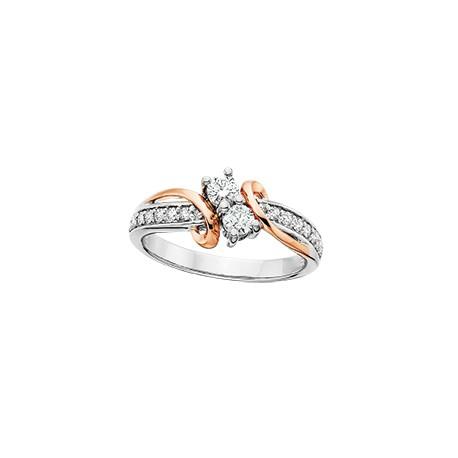 C15 diamond ring 2nd pg 1/4ct