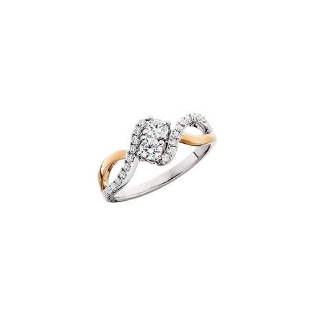 C17 diamond ring 2nd pg 1/4ct