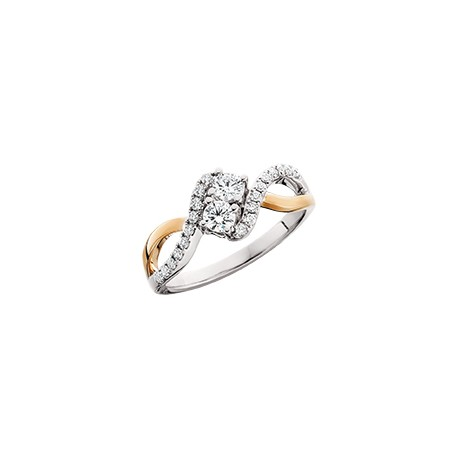 C19 diamond ring 2nd pg 3/4ct