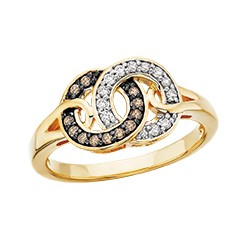 C23 gold ring black and silver 2nd pg