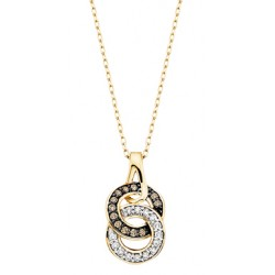 C24 gold double ring necklace 2nd pg