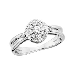 C28 Endless Radiance Diamond Ring