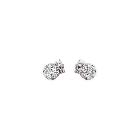 B33 diamond stud earrings 1/4ct