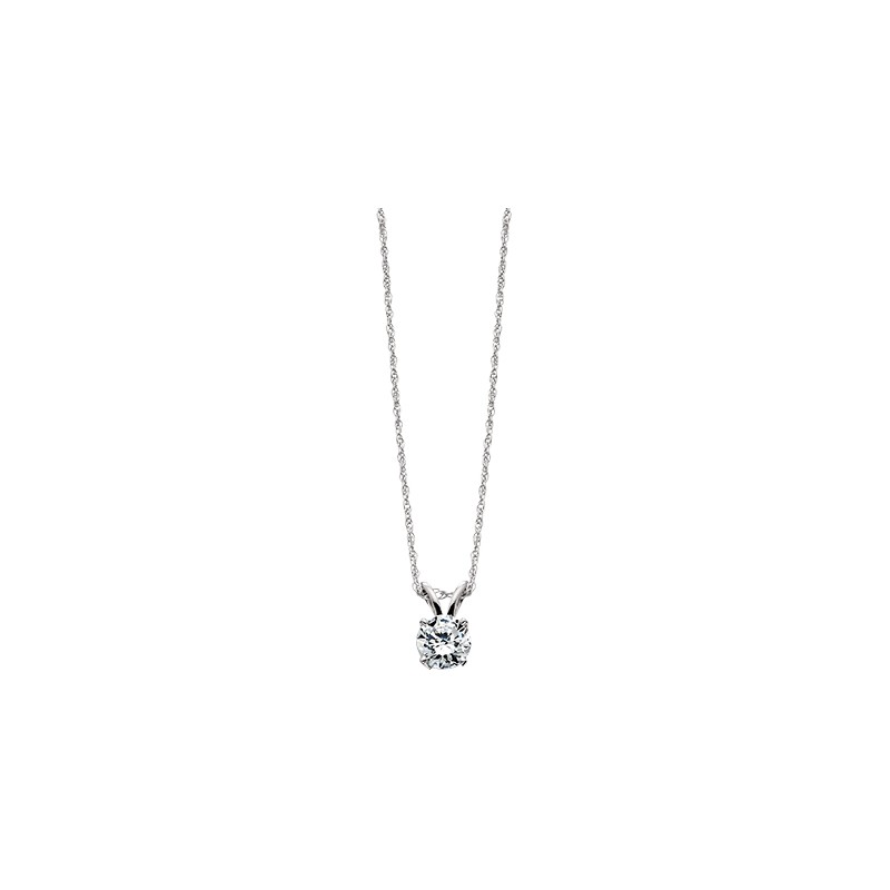 white zirconia swarovski set com pendant dp cttw gold necklace solitaire amazon with round cut