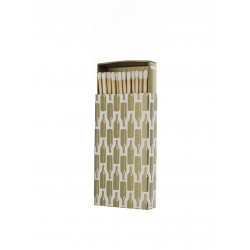 "Rewind Candles ""Gold Bottle Matchbox"""