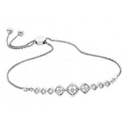 D84 Sterling Diamond Bolo Bracelet Reg $300.00