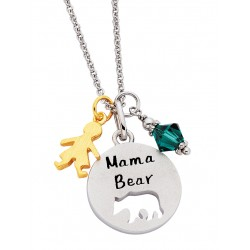 C169 SS Mama Bear pendant